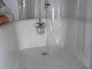 afvoer bad verstopt